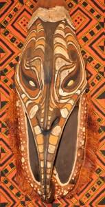 Afrykańska maska plemienna