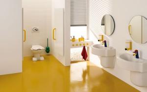 Wystrój łazienki dla dzieci