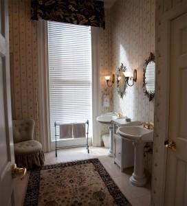 Łazienka w romantycznym stylu