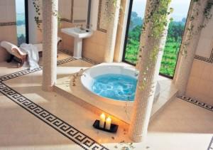 Łazienka w greckim stylu