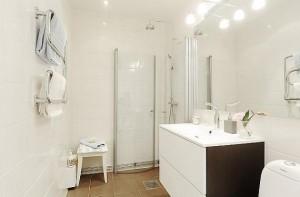 Skandynawski styl w łazience