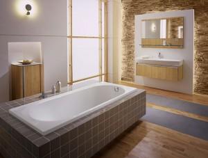Aranżacja łazienki z wykorzystaniem serii Caprice firmy KOŁO