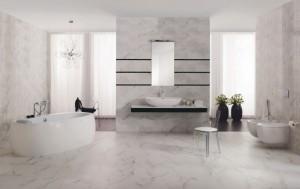Rezydencjonalna klasyka w łazience