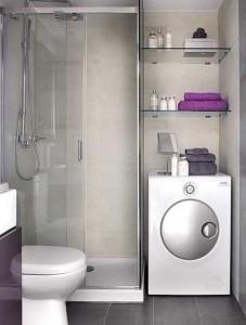 Mała łazienka w domu