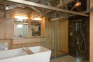 Łazienka w loftowym stylu