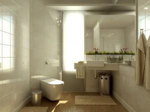 Aranżacja małej domowej łazienki