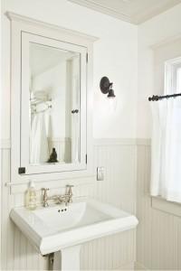 Umywalka w stylu retro z postumentem