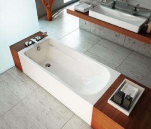 Aranżacja łazienki z wanną prostokątną Comfort Plus