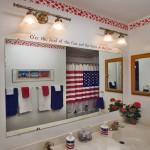 Łazienka w amerykańskim stylu