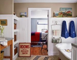 Aranżacja łazienki w stylu amerykańskim