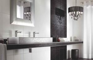 styl glamour w łazience