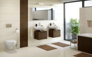 Aranżacja łazienki z wykorzystaniem serii KOŁO Spark