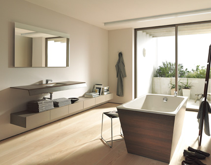 Ascetyczna łazienka w nowoczesnym wydaniu