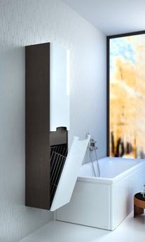 Aranżacja średniej łazienki z wykorzystaniem serii KOŁO Rekord