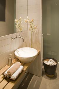 Storczyk w łazience