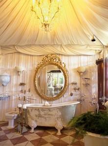 Wiktoriańska stylistyka łazienki
