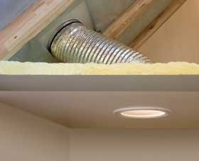 Przykład montażu świetlika tunelowego