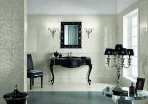 Elegancka i praktyczna łazienka vintage