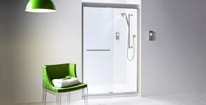 prysznic w nowoczesnej łazience