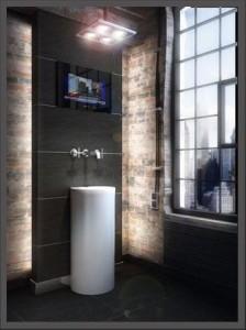 TV w łazience
