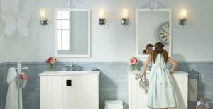 oświetlenie punktowe do łazienki