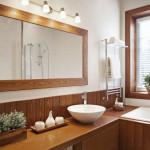 Ozdabianie ścian łazienkowych