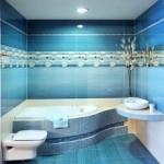 Błękitna łazienka