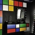 Wielobarwna łazienka