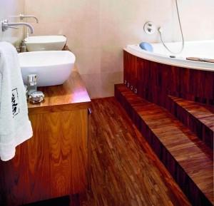 Podłogi łazienkowe