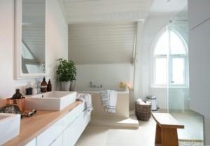 Skandynawskie łazienki