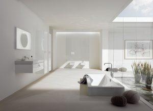 Duża łazienka z luksusami