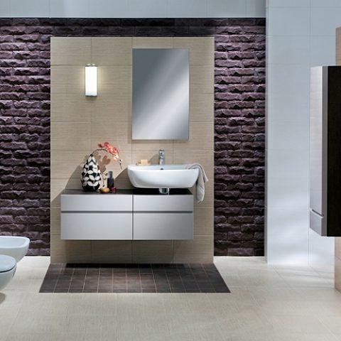 Łazienka w domku jednorodzinnym