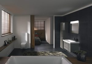 Łazienka i sypialnia