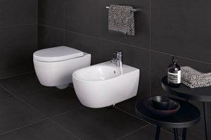 Toaleta w stylu nowoczesnym