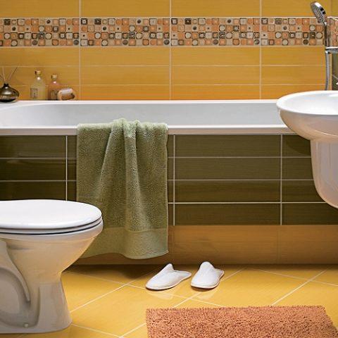 Aranżacja wąskiej łazienki