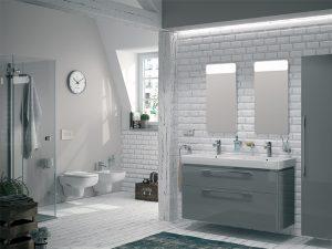 Nietypowa aranżacja łazienki