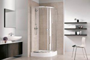 Funkcjonalna strefa prysznicowa