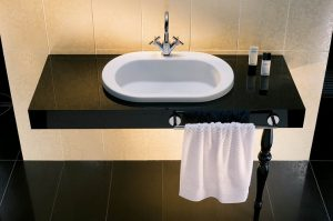 Nowoczesna umywalka z blatem
