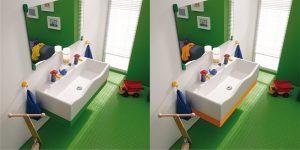 Pomysły na dziecięcą łazienkę