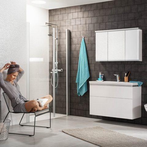 Łazienka bez grzejników
