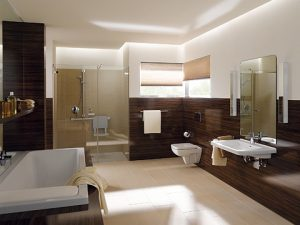 Ogrzewanie podłogowe w dużej łazience