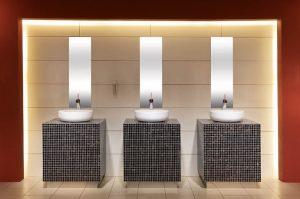 Łazienka w restauracji