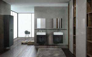 Funkcjonalna aranżacja łazienki