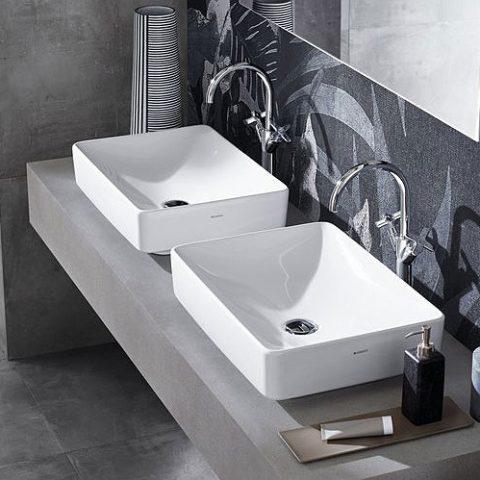 Strefa umywalkowa w łazience